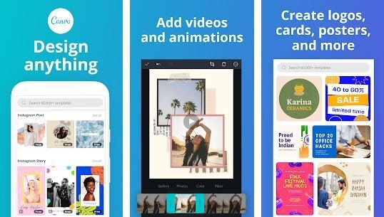 Canva - Graphic Designer and Photo Editor Software
