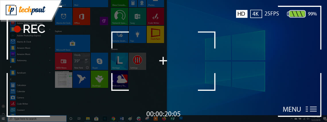 12 Best Free Screen Recorder Software For Windows In 2020