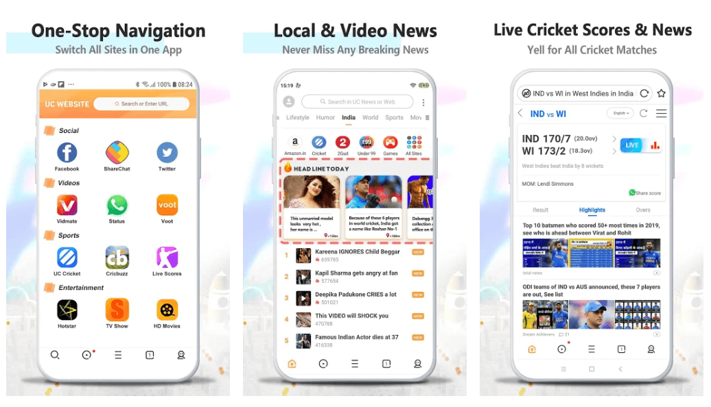 UC Browser - Browser For Android