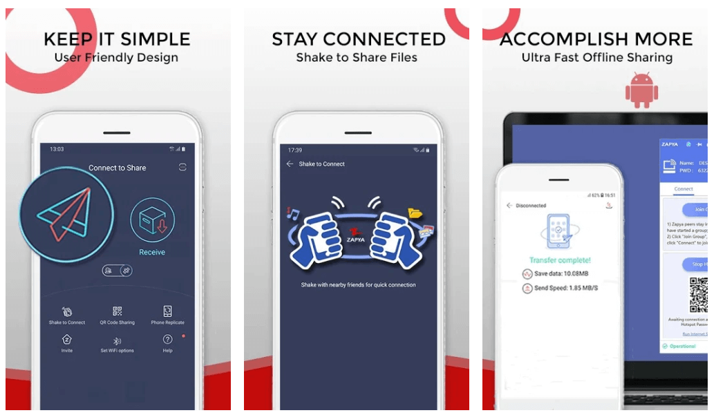 Zapya - Best File Sharing App