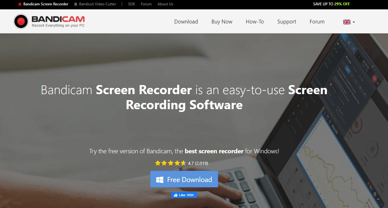 Bandi Cam Screen Recorder