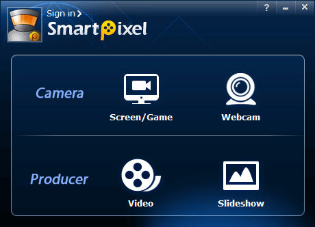 SmartPixel - Windows Screen Recorder Software
