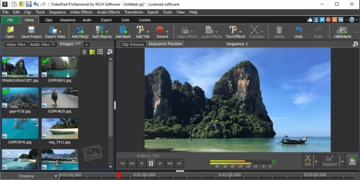 VideoPad - Windows Video Editing Software