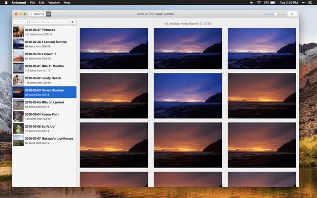 Unbound - best photo management app