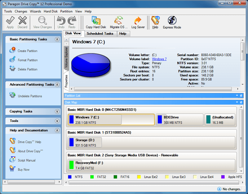 Paragon Drive Copy - Disk Cloning Software