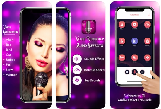 Girls Voice Changer for iPhone