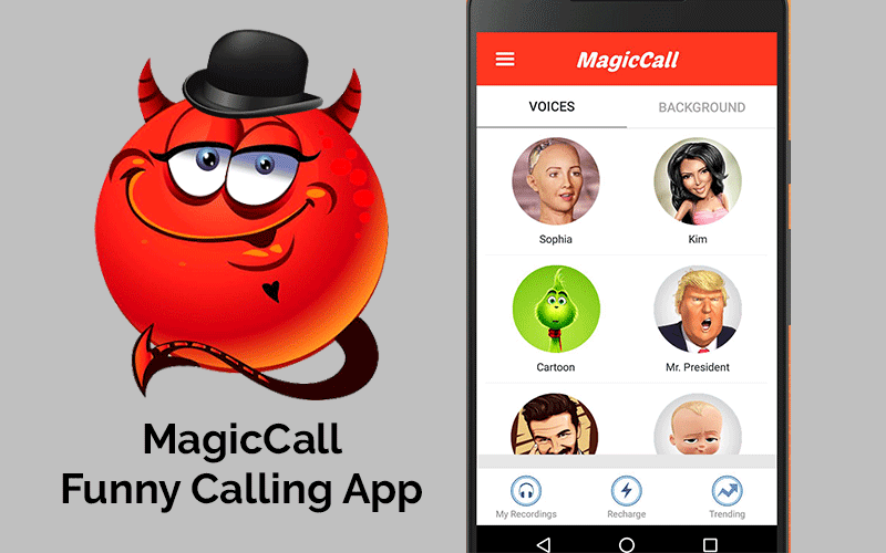 Magic Call - Real time voice changer app during call