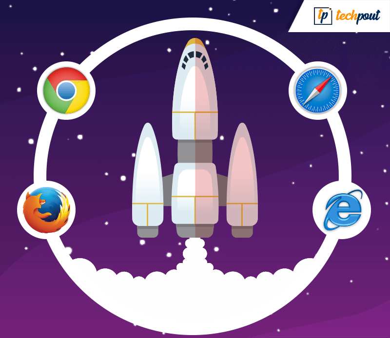 Speed up web browser