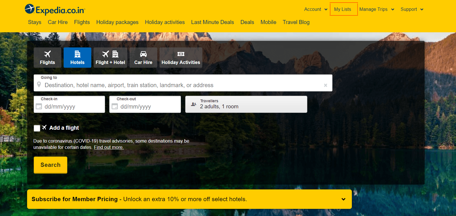 Expedia - Best Travel Booking Site