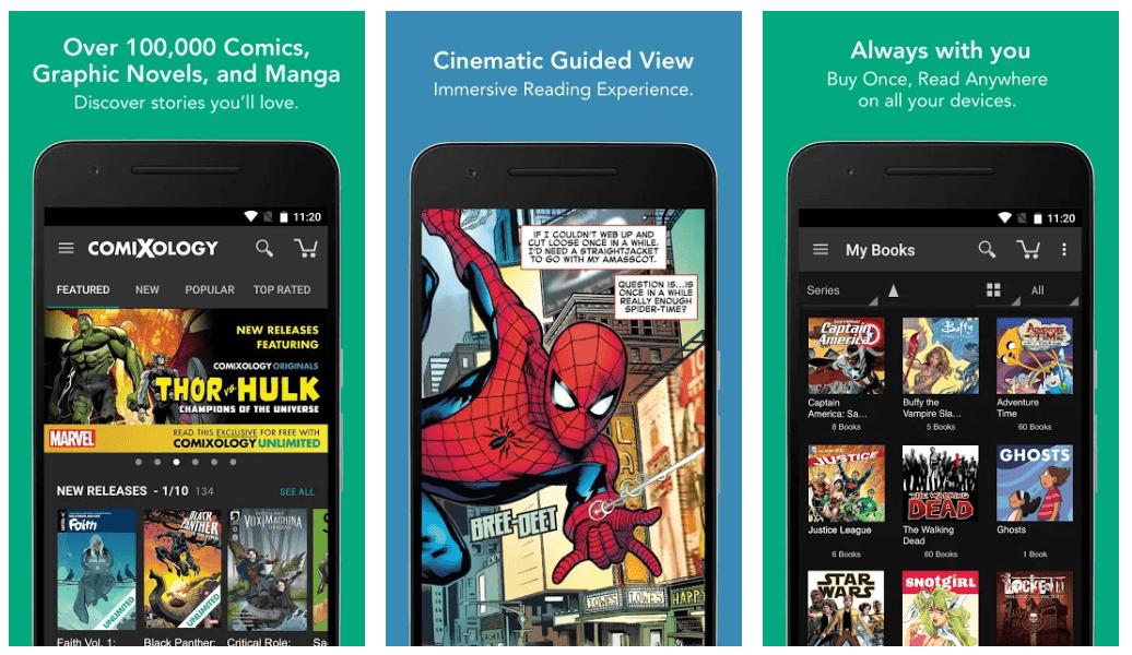ComiXology - Best eBook Reader App