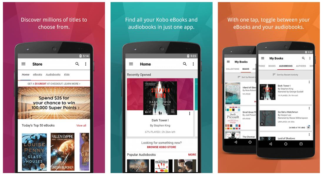 Kobo - Best App For Reading Books