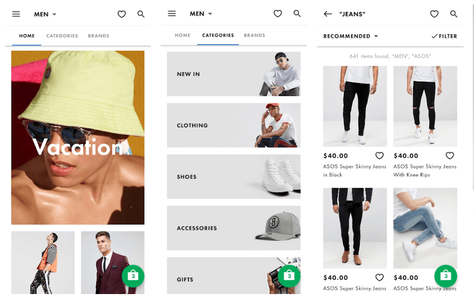 ASOS - Best Online Shopping Application