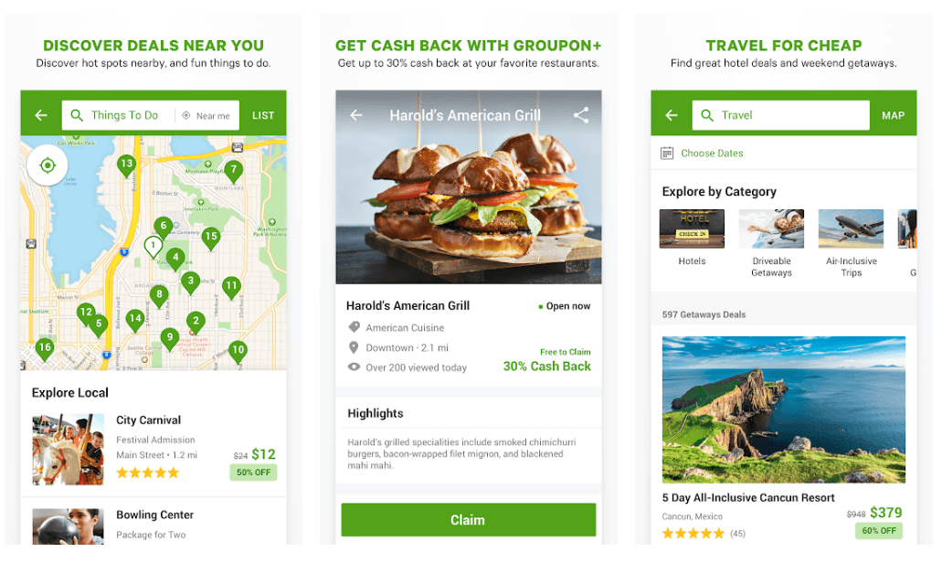 Groupon - Online Shopping App