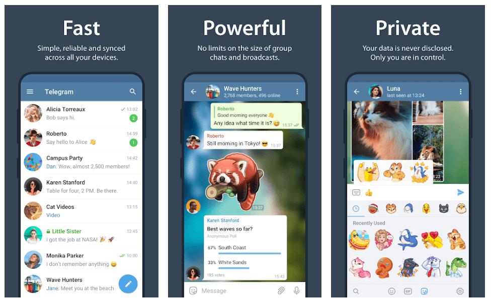 Telegram - Best Instant Messaging App