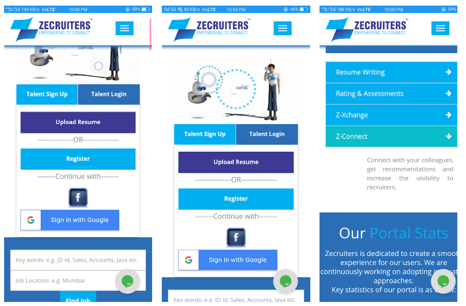 ZipRecruiter Job Search