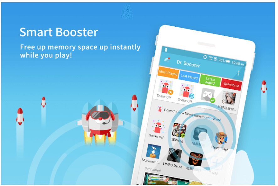 Dr. Booster - Best Game Booster App