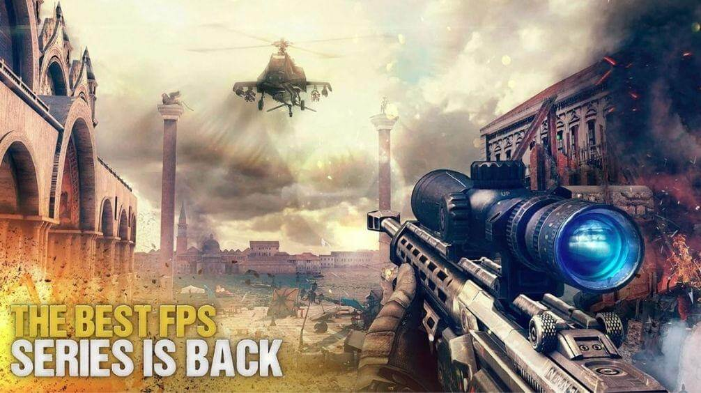 Modern Combat 5 - Best Multiplayer Game For Android