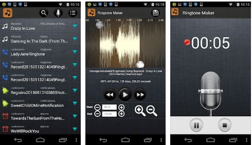 Ringtone Maker: MP3 cutter