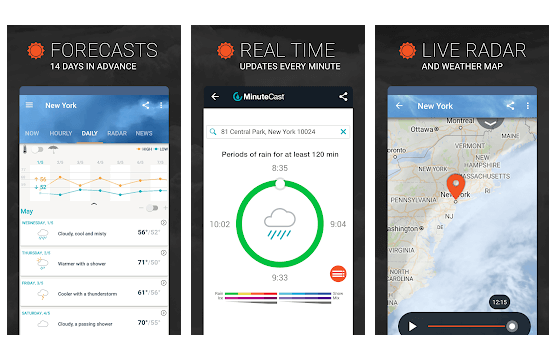 AccuWeather - Best Free Weather App
