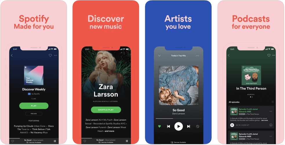 Spotify - Best Podcast Apps