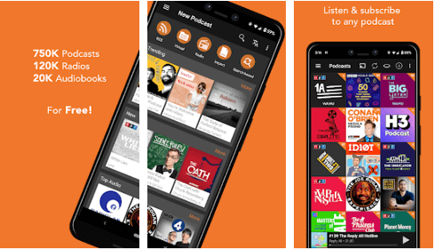 Podcast Addict - Best Android Podcast App