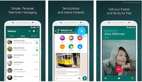 WhatsApp - Best Free Video Calling App