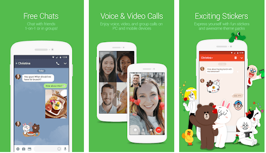 Line- Best Messaging App For Android & iOS