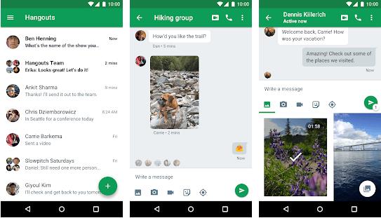 Hangouts - Video Calling App