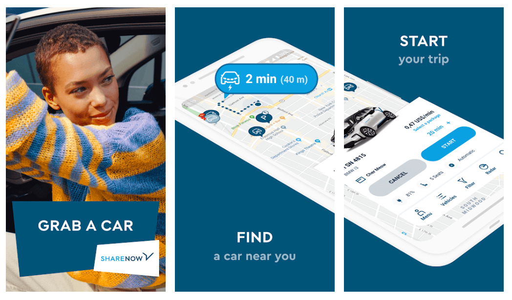 Car2Go - Best Car Rental App