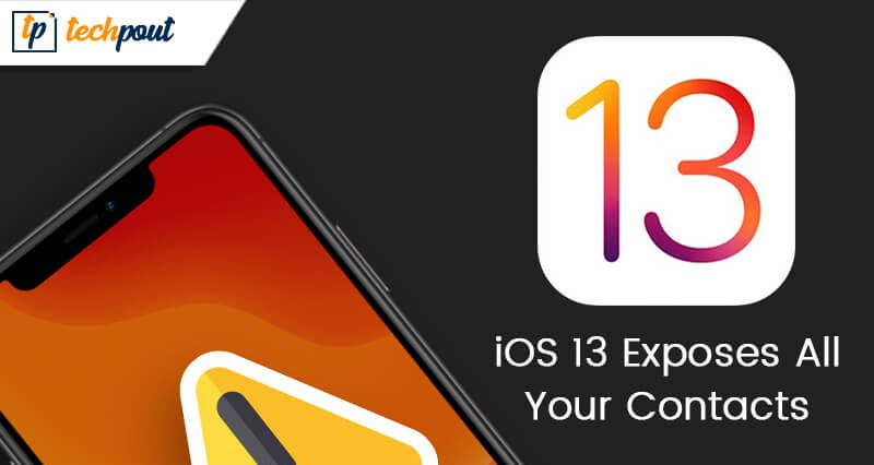 Security Loophole in iOS 13 Exposes All Your Contacts