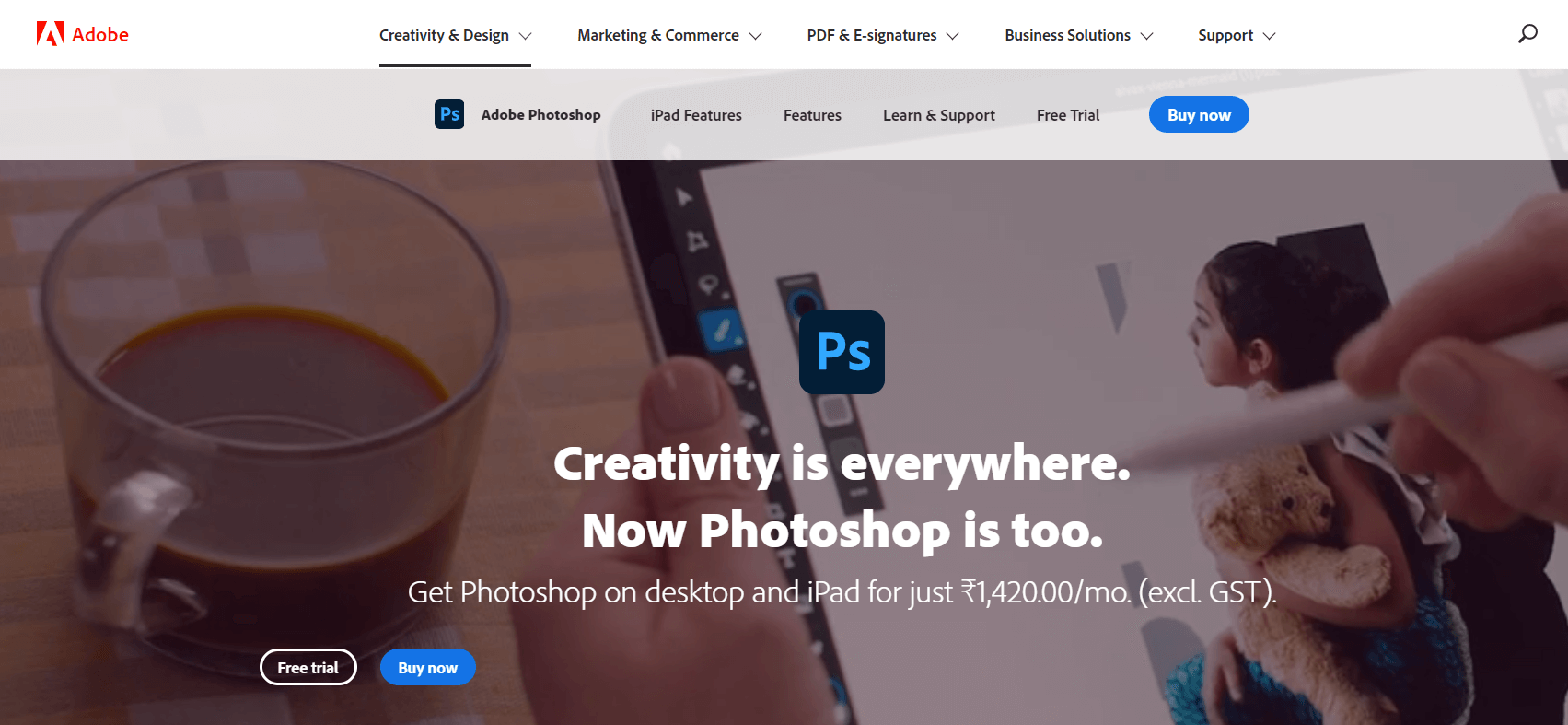 Adobe Photoshop CC - Best Photo Editing Software
