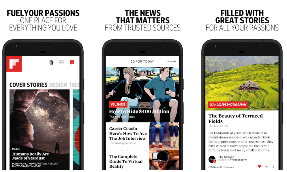 Flipboard - Best News App For Android and iOS