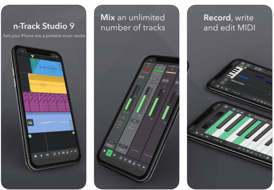 n-Track Studio 9 - Best Free Music Making App