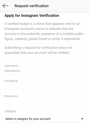 obtain Instagram Verification - 4