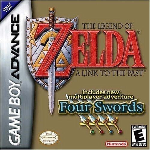 The Legend of Zelda A Link to the Past and Four Swords