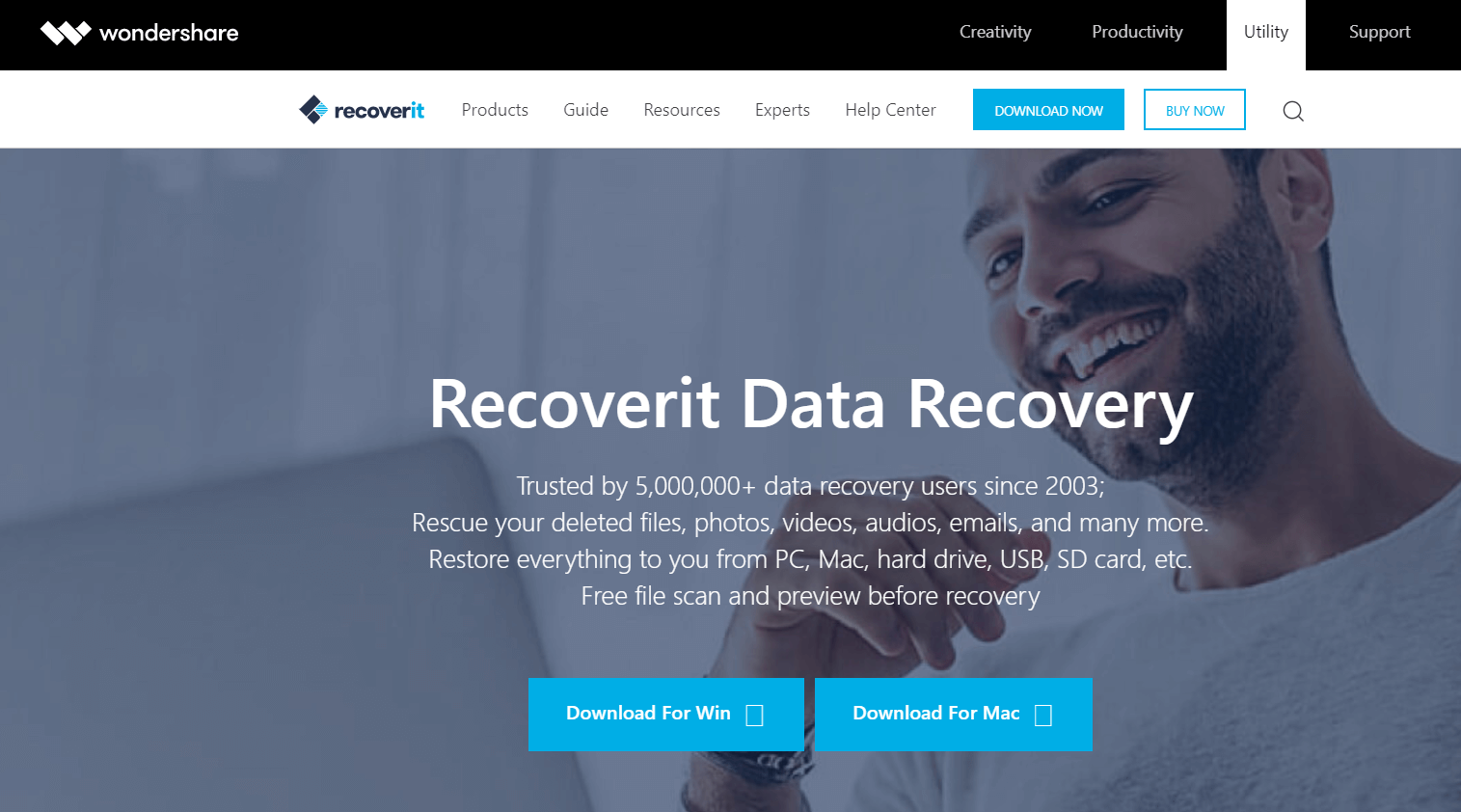 Wondershare - File Recovery Software