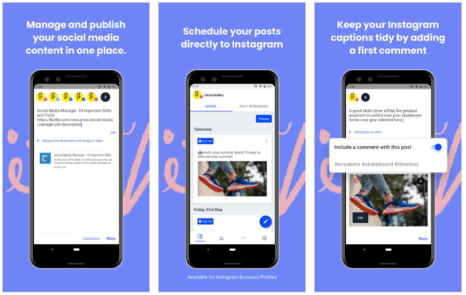 Buffer - Best Marketing Apps