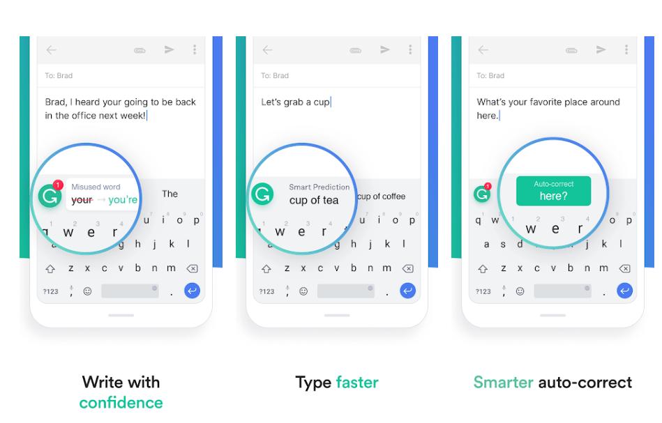Grammarly Keyboard - Marketing App For Business