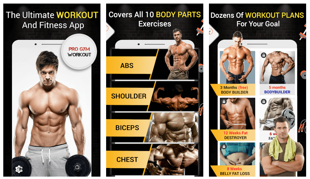Pro Gym Workout (Gym Workouts & Fitness)