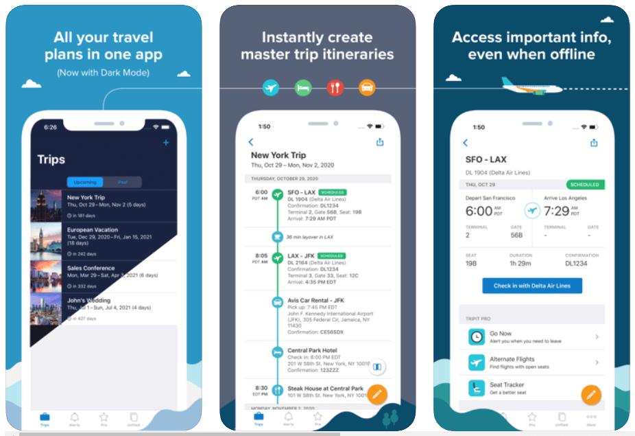 Triplt - Best Travel Apps