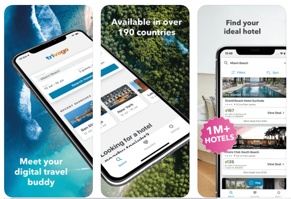 Trivago - Best Travel Apps