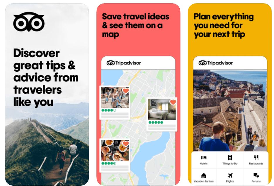 TripAdvisor - Best Travel Apps