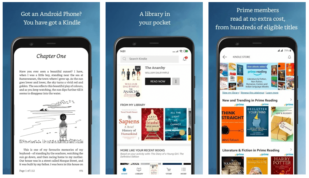 Amazon Kindle - Best App For Reading Books