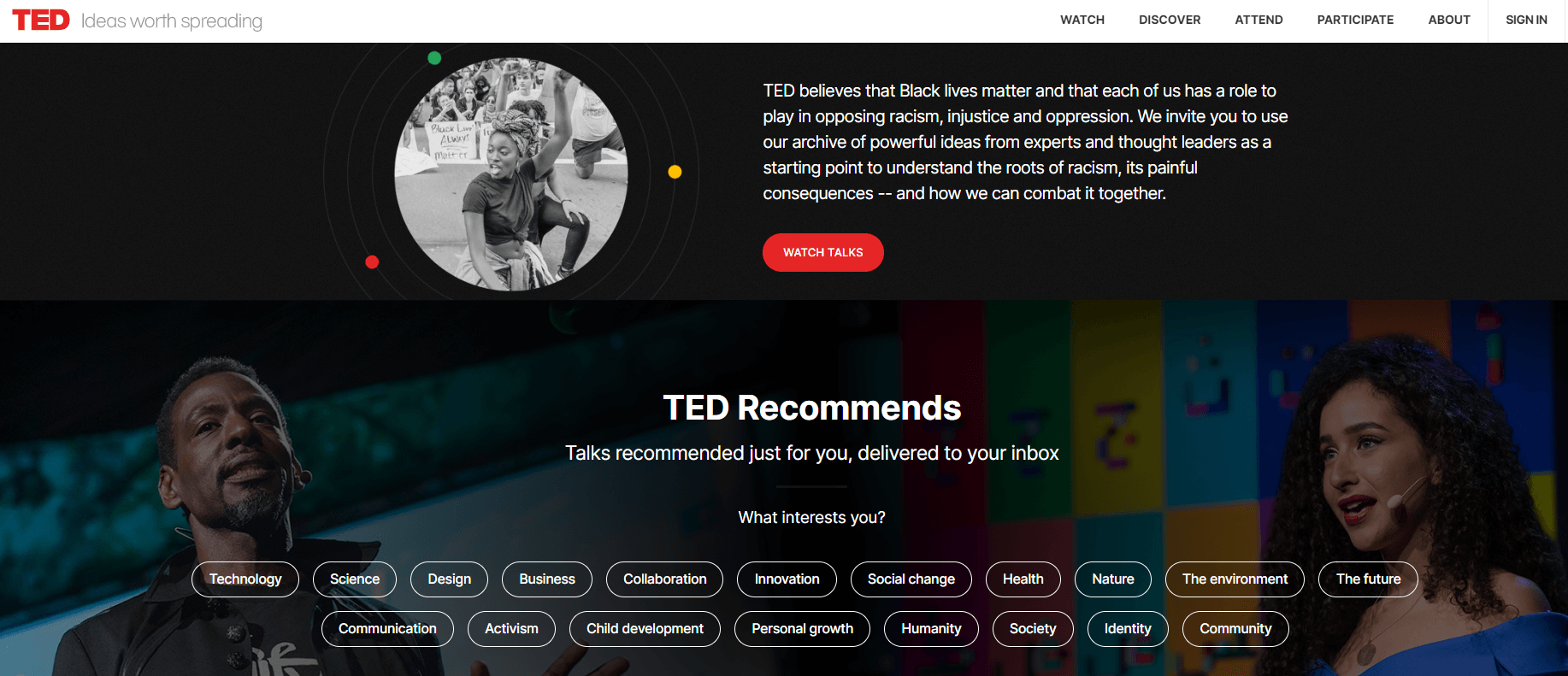 TED - Video Sharing Platform