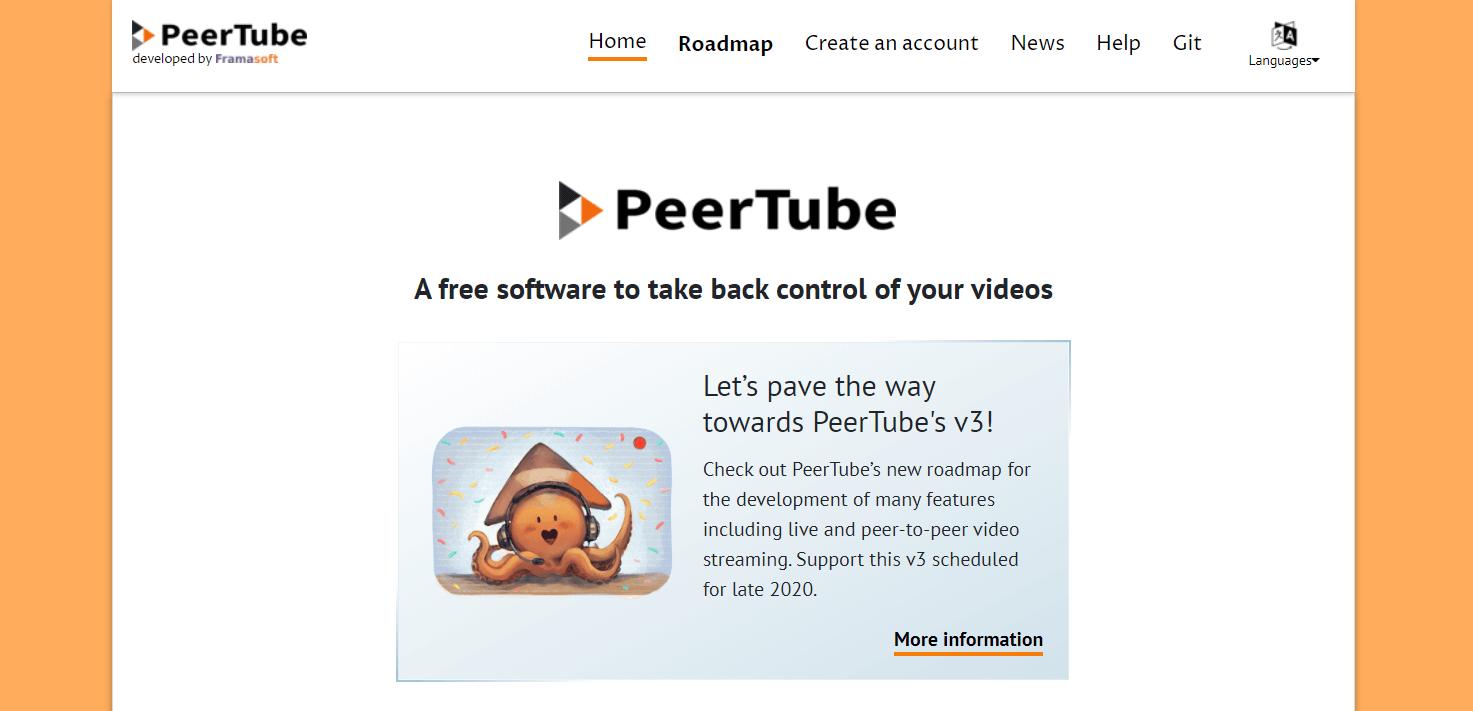 PeerTube - Best Site For Video Sharing