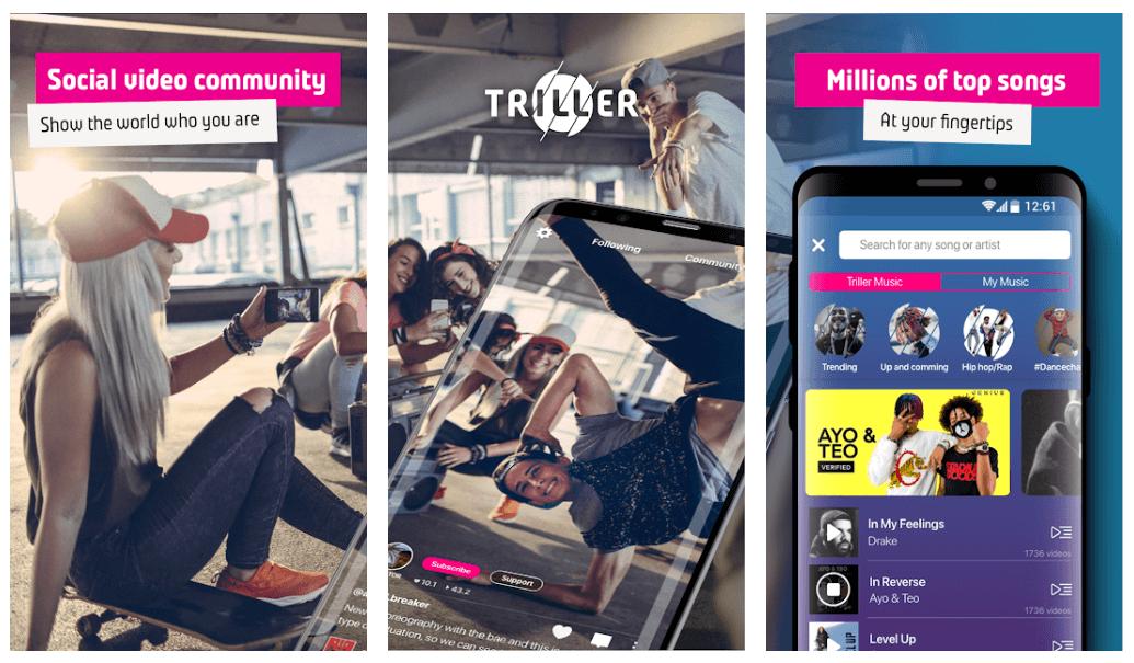 Triller - Best TikTok Alternative Apps in 2020
