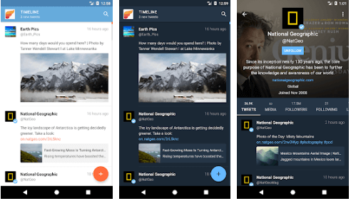 Fenix 2 - Best Twitter Apps for Android