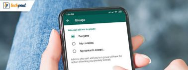 New Blacklist Option in WhatsApp Group Privacy Settings