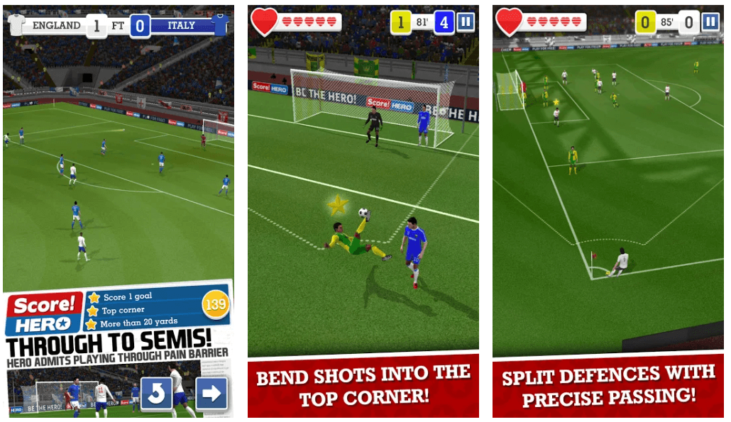 Score! Hero - Best Football Game For Android