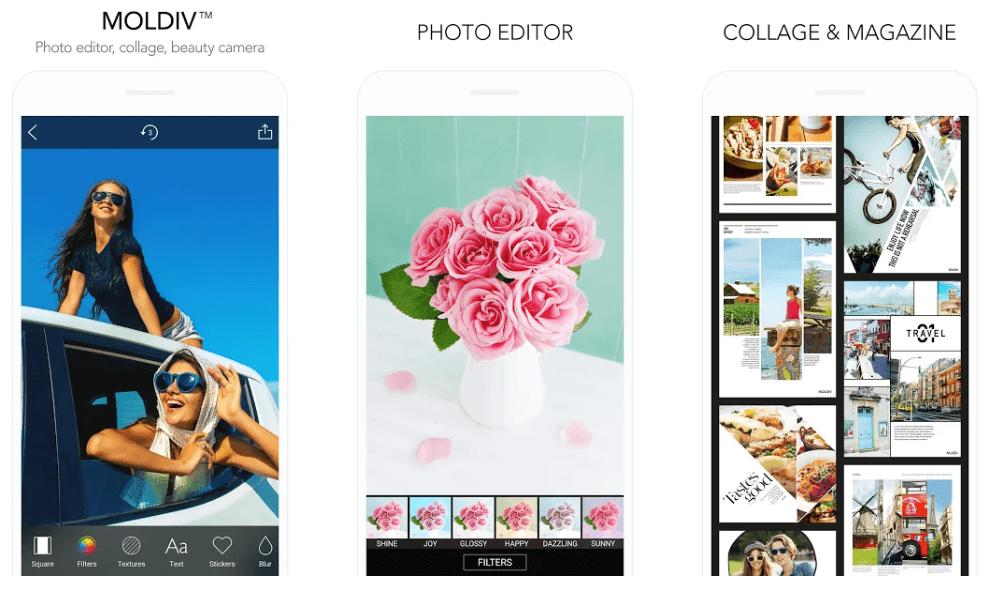 Moldiv- Best Free Collage Maker App